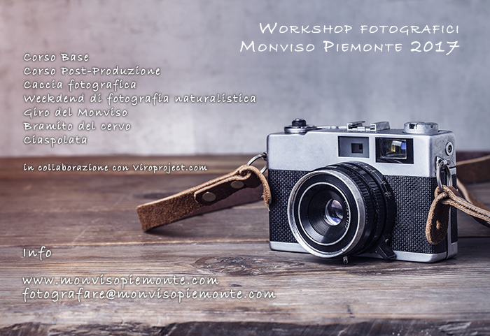 workshop fotografici in montagna