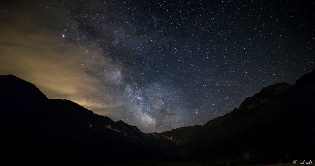 Luci nella notte polvere di stelle u2013 monviso piemonte